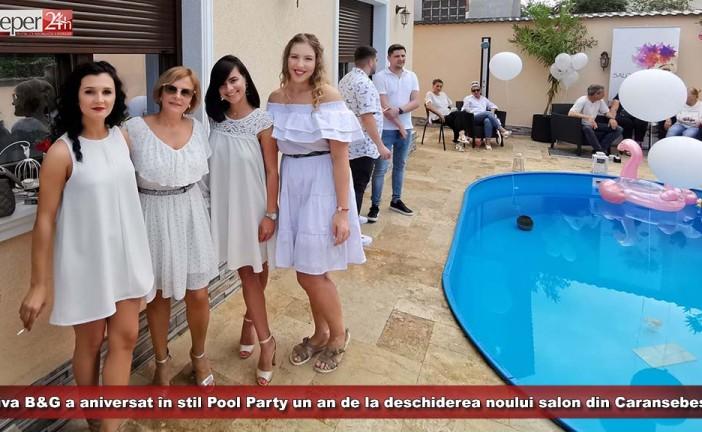 Diva B&G a aniversat în stil Pool Party un an de la deschiderea noului salon din Caransebeș!