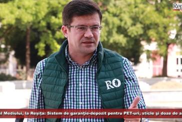 Ministrul Mediului, la Reșița: Sistem de garanţie-depozit pentru PET-uri, sticle şi doze de aluminiu, până la finalul acestui an