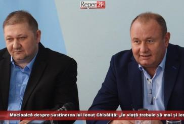 """Mocioalcă despre susținerea lui Ionuț Chisăliță: """"În viață trebuie să mai și ierți!"""""""