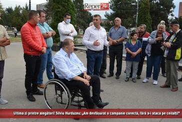 """Ultima zi printre alegători! Silviu Hurduzeu: """"Am desfășurat o campanie corectă, fără a-i ataca pe ceilalți!"""""""