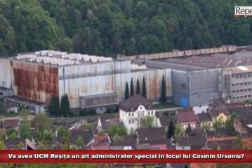 Va avea UCM Reșița un alt administrator special în locul lui Cosmin Ursoniu?
