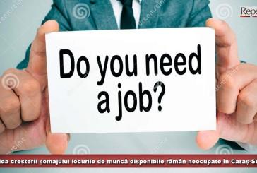 În pofida creșterii șomajului, locurile de muncă disponibile rămân neocupate în Caraș-Severin