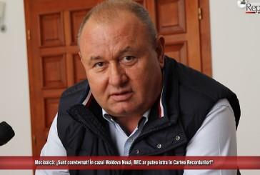 """Mocioalcă: """"Sunt consternat! În cazul Moldova Nouă, BEC ar putea intra în Cartea Recordurilor!"""""""