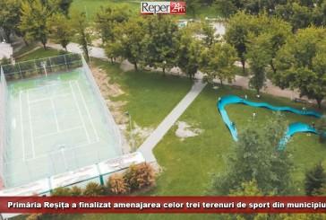 Primăria Reșița a finalizat amenajarea celor trei terenuri de sport din municipiu!