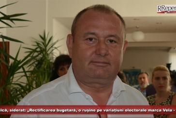 """Mocioalcă, siderat: """"Rectificarea bugetară, o rușine pe variațiuni electorale marca Vela – Dunca!"""""""