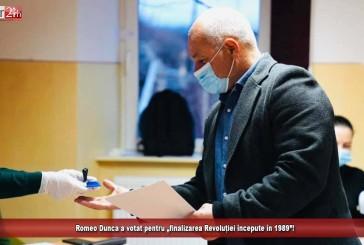 """Romeo Dunca a votat pentru """"finalizarea Revoluției începute în 1989""""!"""