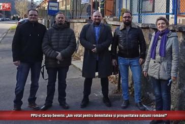 """PPU-SL Caraș-Severin: """"Am votat pentru demnitatea și prosperitatea națiunii române!"""""""