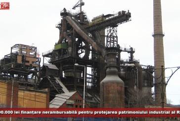 1.000.000 de lei finanțare nerambursabilă pentru protejarea patrimoniului industrial al Reșiței!
