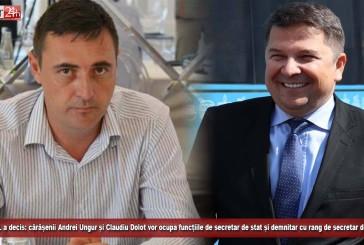 PNL a decis: cărășenii Andrei Ungur și Claudiu Dolot vor ocupa funcțiile de secretar de stat și demnitar cu rang de secretar de stat