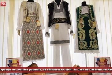 Expoziție de costume populare, de sărbătoarea iubirii, la Casa de Căsătorii din Reșița