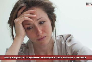 Rata șomajului în Caraș-Severin se menține în jurul valorii de 4 procente
