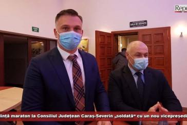 """Ședință maraton la Consiliul Județean Caraș-Severin """"soldată"""" cu un nou vicepreședinte"""