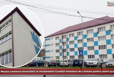 Primăria Reșița continuă investițiile în infrastructura școlară! Condiții hoteliere de calitate pentru elevii școlii duale!