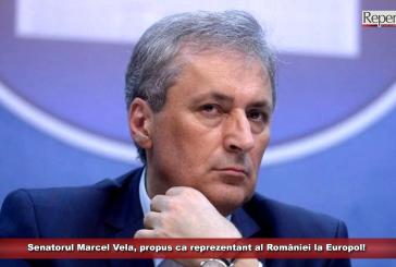 Senatorul Marcel Vela, propus ca reprezentant al României la Europol!