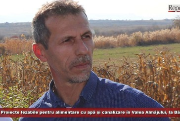 Proiecte fezabile pentru alimentare cu apă și canalizare în Valea Almăjului, la Bănia