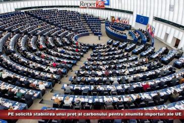 PE solicită stabilirea unui preț al carbonului pentru anumite importuri ale UE