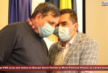 PNL și PSD și-au dat mâna la Bocșa! Sorin Perian și Mirel Patriciu Pascu, la cârma orașului