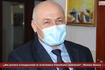 """""""Am promis transparență în activitatea Consiliului Județean"""" – Romeo Dunca"""