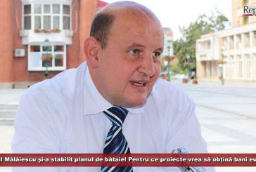 Primarul Mălăiescu și-a stabilit planul de bătaie! Pentru ce proiecte vrea să obțină fonduri europene?