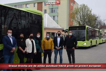 Orașul Oravița are de astăzi autobuze hibrid printr-un proiect european