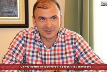 Un nou centru de vaccinare s-a deschis în Caransebeș