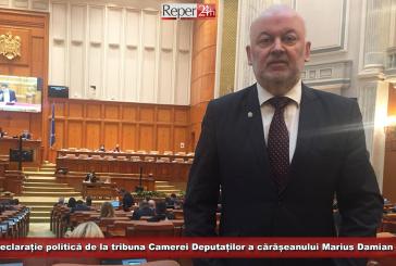 Declarație politică de la tribuna Camerei Deputaților a cărășeanului Marius Damian