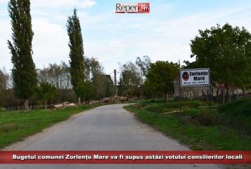 Bugetul comunei Zorlențu Mare va fi supus astăzi votului consilierilor locali