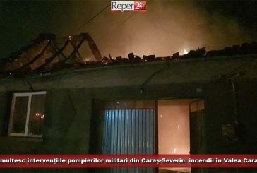 Se înmulțesc intervențiile pompierilor militari din Caraș-Severin; incendii în Valea Carașului