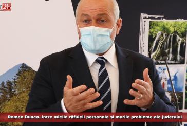Romeo Dunca, între micile răfuieli personale și marile probleme ale județului