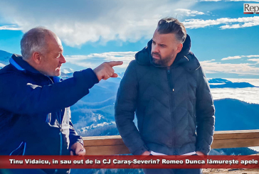 TinuVidaicu, in sau out de la CJ Caraș-Severin? Romeo Dunca lămurește apele
