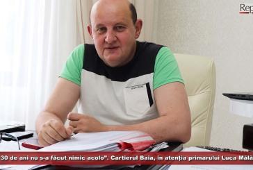 """""""De 30 de ani nu s-a făcut nimic acolo"""". Cartierul Baia, în atenția primarului Luca Mălăiescu"""