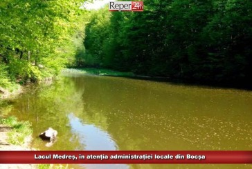 Lacul Medreș, în atenția administrației locale din Bocșa
