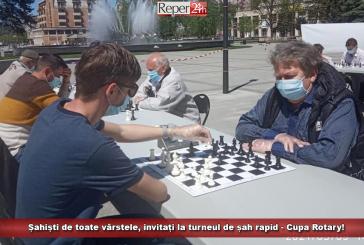 Șahiști de toate vârstele, invitați la turneul de șah rapid – Cupa Rotary!