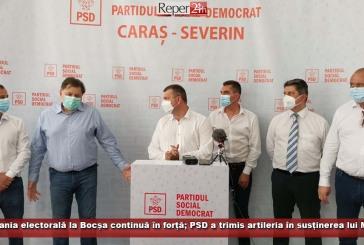 (E) Campania electorală la Bocșa continuă în forță; PSD a trimis artileria în susținerea lui Mirel Pascu