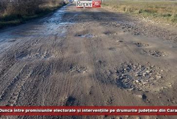 Romeo Dunca, între promisiunile electorale și intervențiile pe drumurile județene din Caraș-Severin