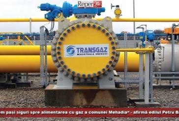"""""""Facem pași siguri spre alimentarea cu gaz a comunei Mehadia"""", afirmă edilul Petru Bardac"""