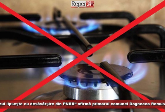 """""""Gazul lipsește cu desăvârșire din PNRR"""", afirmă primarul comunei Dognecea, Remus Rof"""