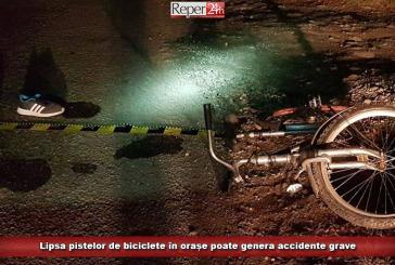 Lipsa pistelor de biciclete în orașe poate genera accidente grave