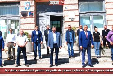 O a doua candidatură pentru alegerile de primar la Bocșa a fost depusă astăzi