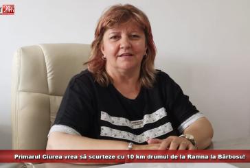 Primarul Ciurea vrea să scurteze cu 10 km drumul de la Ramna la Bărbosu!