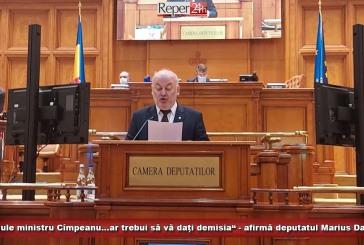 """""""Domnule ministru Cîmpeanu…ar trebui să vă dați demisia"""" – afirmă deputatul Marius Damian"""