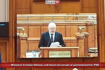 Ministrul Cristian Ghinea, sub focul încrucișat al parlamentarilor PSD