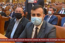 """""""Moțiunea de cenzură NU a trecut! Guvernul condus de Florin Cîțu va merge mai departe"""""""