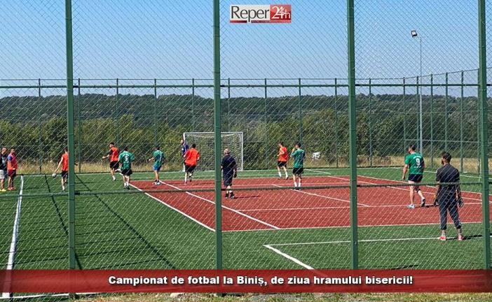 Campionat de fotbal la Biniș, de ziua hramului bisericii!