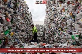 România, depozitul second hand al Europei – editorial de Dan Agache