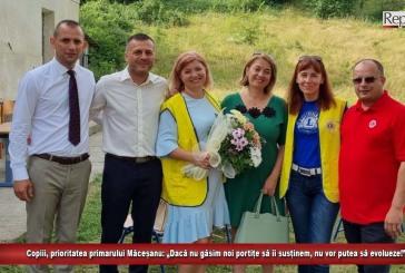 """Copiii, prioritatea primarului Măceșanu: """"Dacă nu găsim noi portițe să îi susținem, nu vor putea să evolueze!"""""""