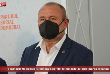 Senatorul Mocioalcă și himera celor 80 de miliarde de euro marca Iohannis