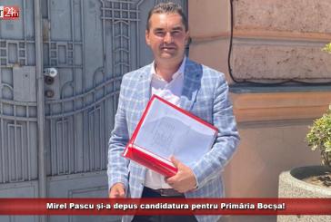 Mirel Pascu și-a depus candidatura pentru Primăria Bocșa!