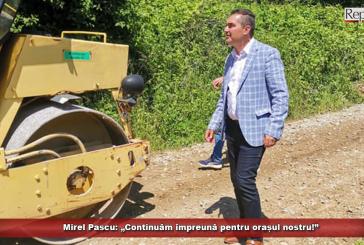 """Mirel Pascu: """"Continuăm împreună pentru orașul nostru!"""""""
