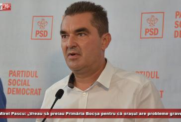 """Mirel Pascu: """"Vreau să preiau Primăria Bocșa pentru că orașul are probleme grave!"""""""